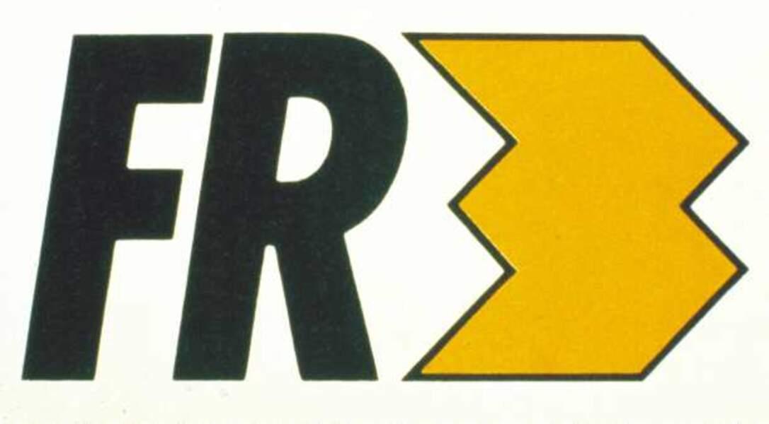 Logo France 3 de 1990 à 1992