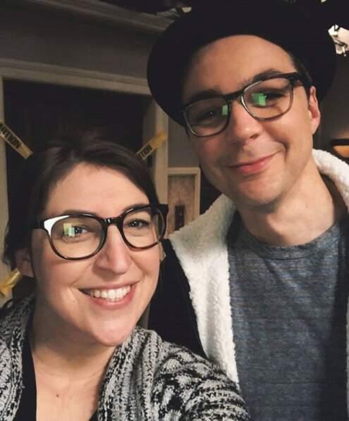 Selfie pour les stars de Big Bang Theory !