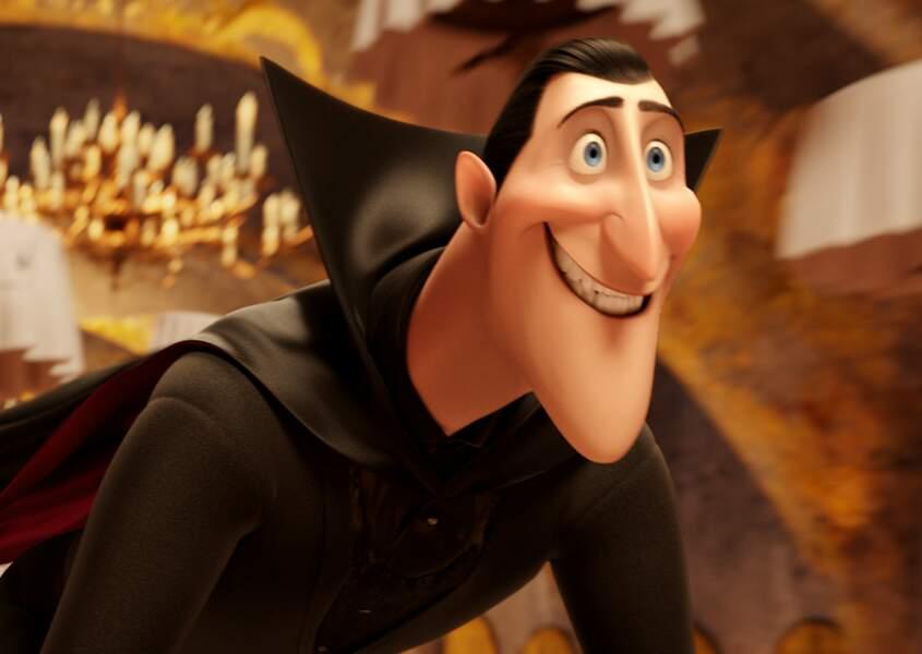 Et qui prête sa voix à Dracula dans Hôtel Transylvanie ? Une ex-star de la télé…