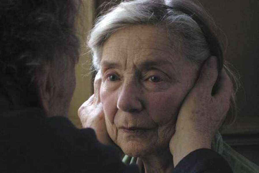 Emmanuelle Riva, dans Amour (Meilleure actrice)