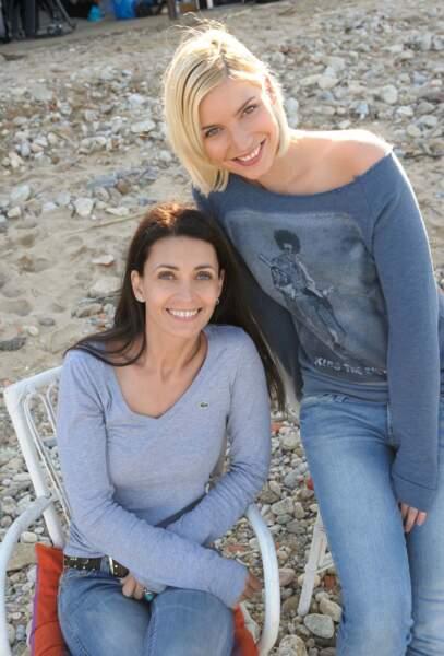 Adeline Blondieau et Nadège Lacroix