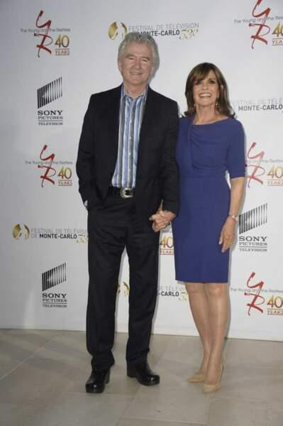 Venus de Dallas, Patrick Duffy et Linda Gray ont aussi fêté les 40 ans des Feux de l'amour