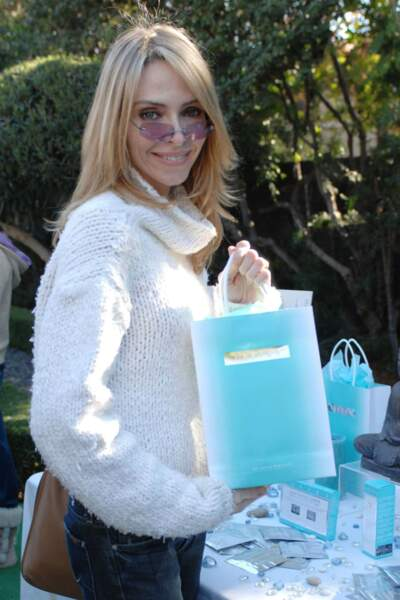 En 2007, elle est invitée à la fête de préparation des Golden Globes à Beverly Hills…