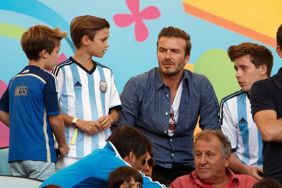 … fervents supporters de l'Argentine