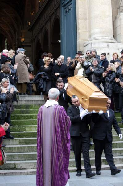 Les obsèques de Corinne Le Poulain se sont déroulés à l'église Saint Roch à Paris