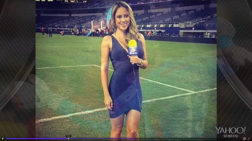 Sur le terrain, la mexicaine Vanessa Huppenkothen a d'ores et déjà gagné la Coupe du monde.