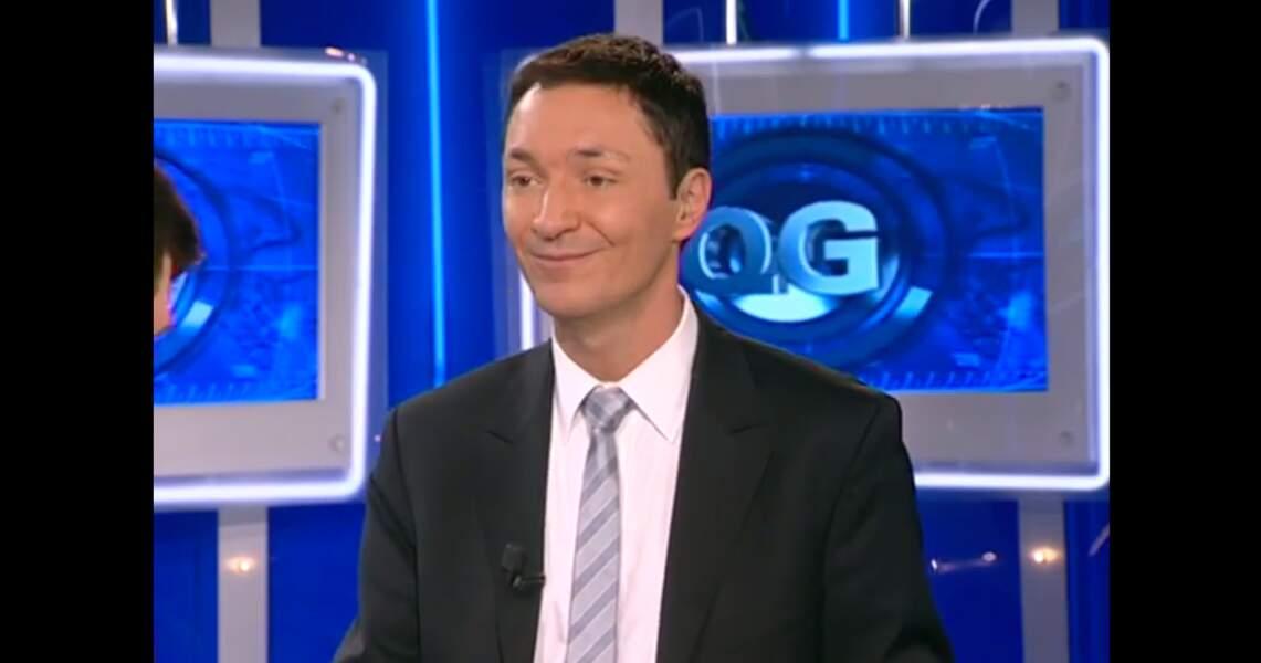 Philippe Verdier a débuté sur La Chaîne Météo puis BFM TV.