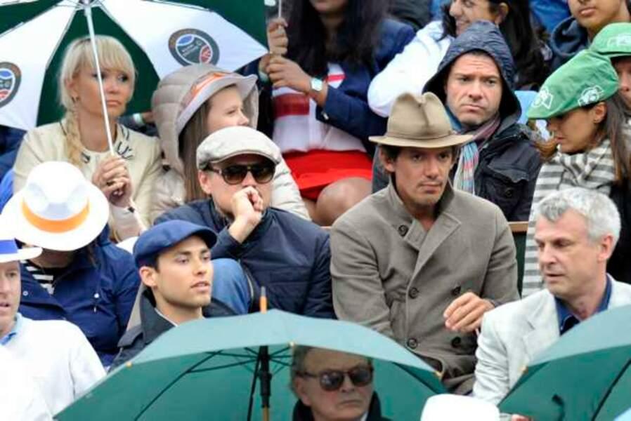 Leonardo DiCaprio était encore présent dans le stade