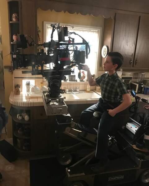Le jeune acteur de 11 ans réalisera peut-être un jour son rêve de passer derrière la caméra
