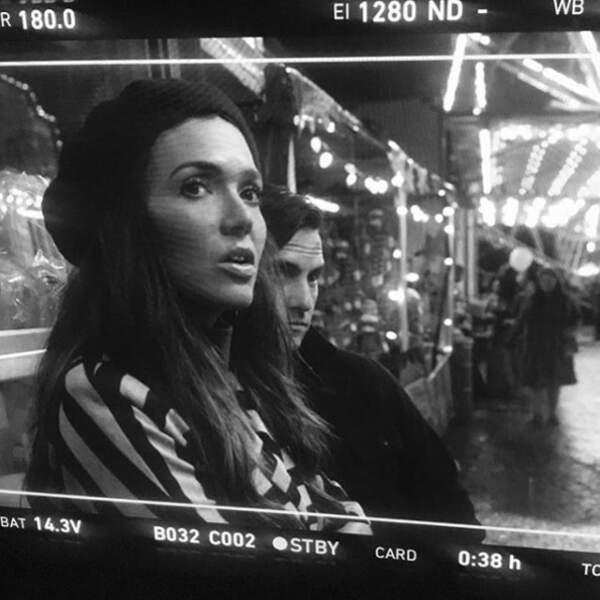 On adore cette photo de tournage de Mandy Moore et Milo Ventimiglia dans la saison 3 de This is Us