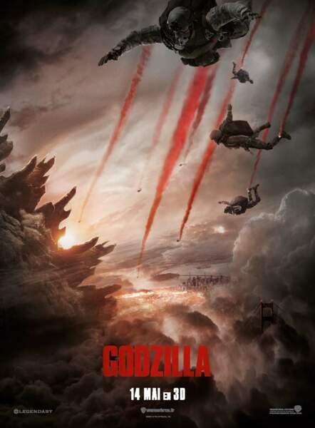 Godzilla (sortie le 14 mai 2014)