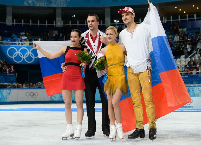 Les Russes dominent le patinage artistique en couple