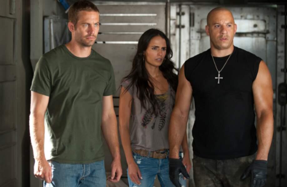Paul Walker, Jordana Brewster et Vin Diesel