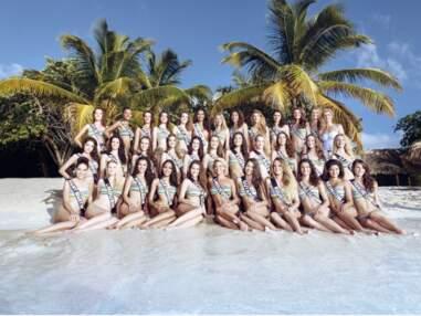 Miss France 2015 : les 33 prétendantes se dévoilent en bikini