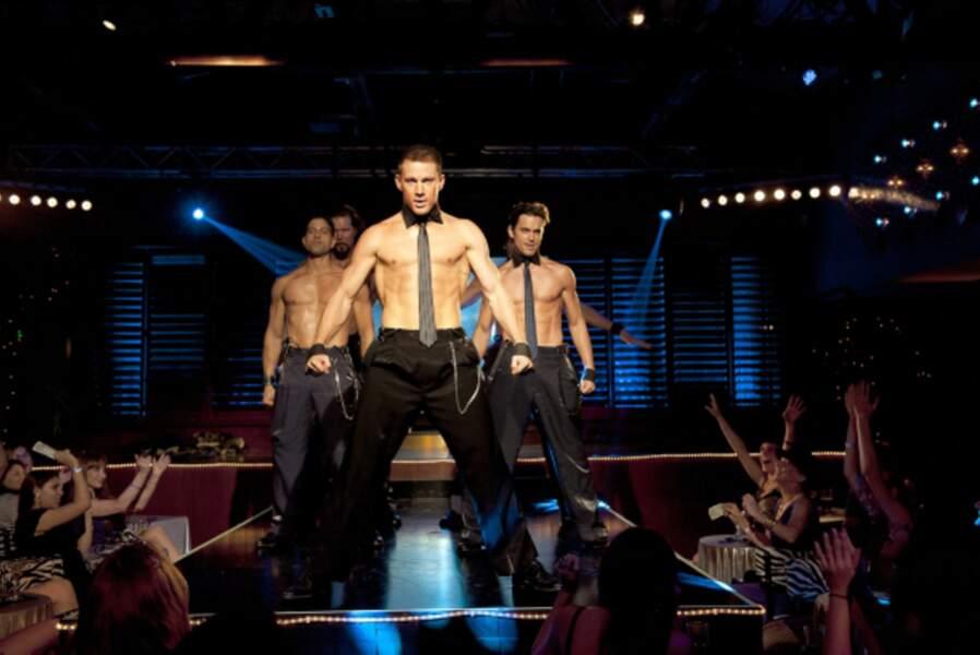 Tatum revient sur ses années strip-tease à Miami dans le très autobiographique Magic Mike (2012).