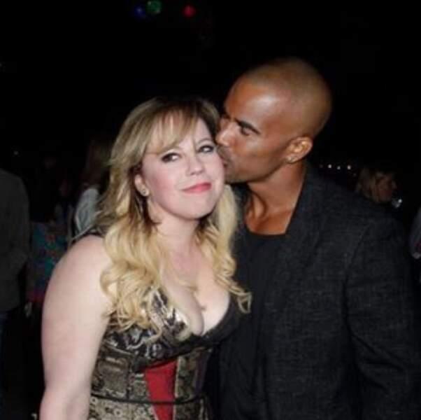 C'est toujours le grand amour entre Kirsten Vangsness et Shemar Moore d'Esprits criminels