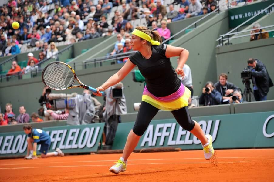 Aravane Rezai sortie d'entrée par Petra Kvitova