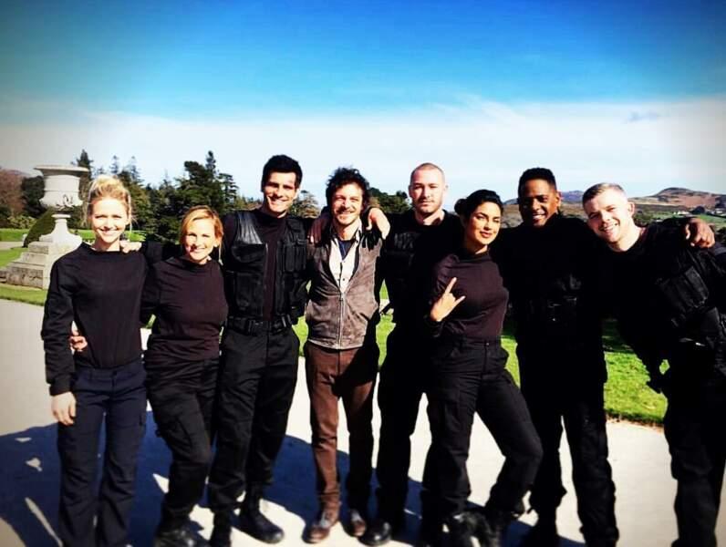 On se quitte avec l'équipe de Quantico, réunie peu avant le lancement de la saison 3 à l'antenne