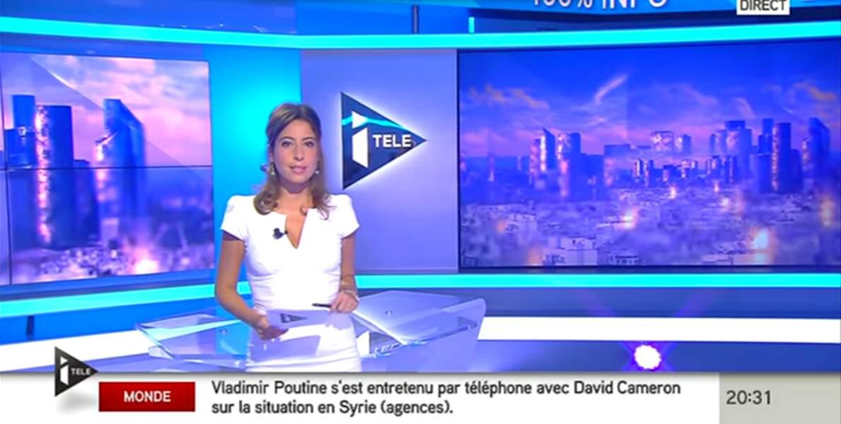 Léa Salamé a incarné les JT de France 24 puis d'iTELE pendant de longues années.
