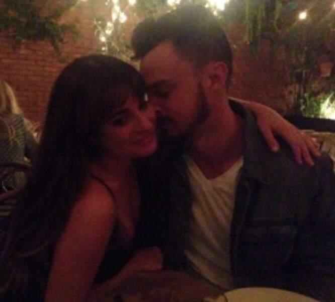 Lea Michele (Glee) file le parfait amour avec Matthew Paetz depuis leur rencontre il y a un an sur un tournage