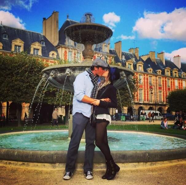 Paris, la ville de l'amour pour Kate Voegele