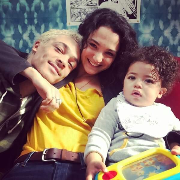Mais il y a aussi celle de Bryan Trésor, avec Pauline Bression et Mathis, leur fils de fiction