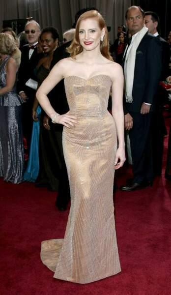 Jessica Chastain, nommée pour l'Oscar de la meilleure actrice