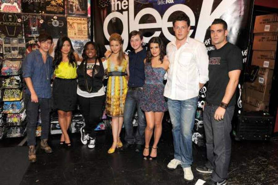 En 2009, Cory participe à la tournée The Gleek Tour