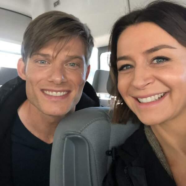Link et Amelia se rapprochent de plus en plus dans Grey's Anatomy… Qui est fan de ce couple ?