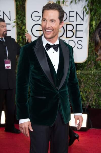 2) Matthew McConaughey (Dallas Buyers Club)