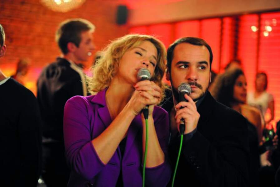 Karaoké entre François-Xavier Demaison et Virginie Efira !