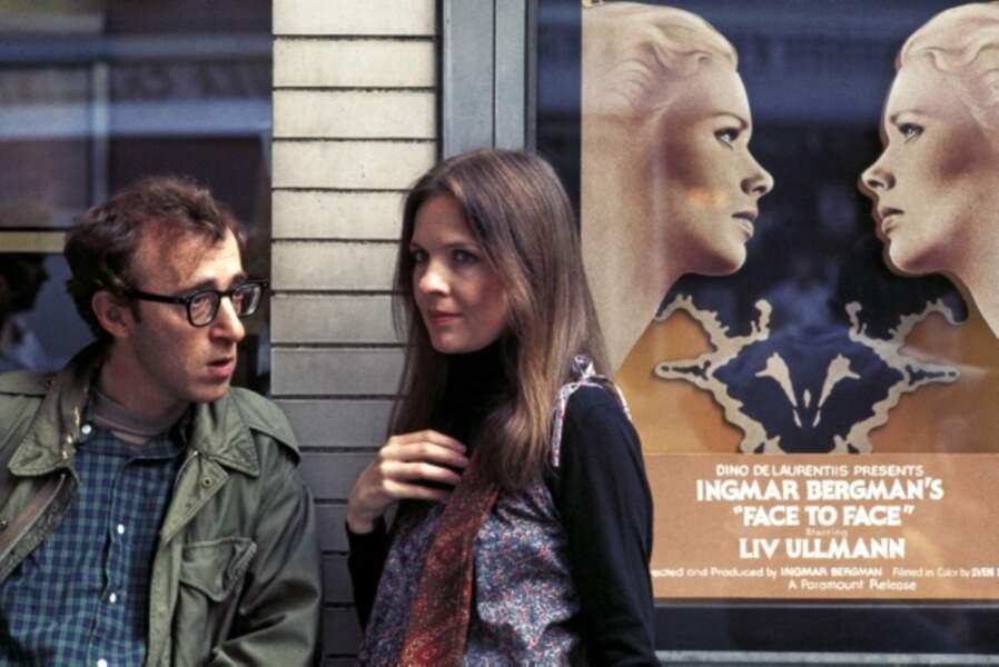 Diane Keaton et Woody Allen dans l'éblouissant Annie Hall (1977), multi-oscarisé