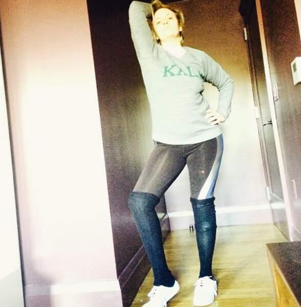Lena Dunham se prend pour Beyoncé