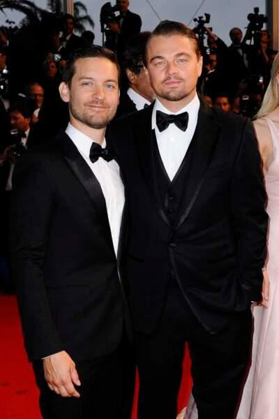 Tobey Maguire et Leonardo DiCaprio