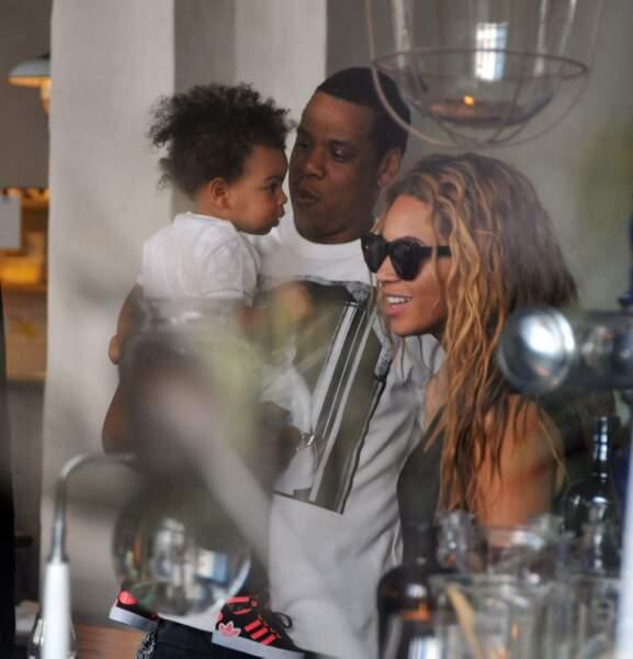 Beyoncé, Jay-Z et leur fille Blue Ivy sont des habitués de la capitale française.