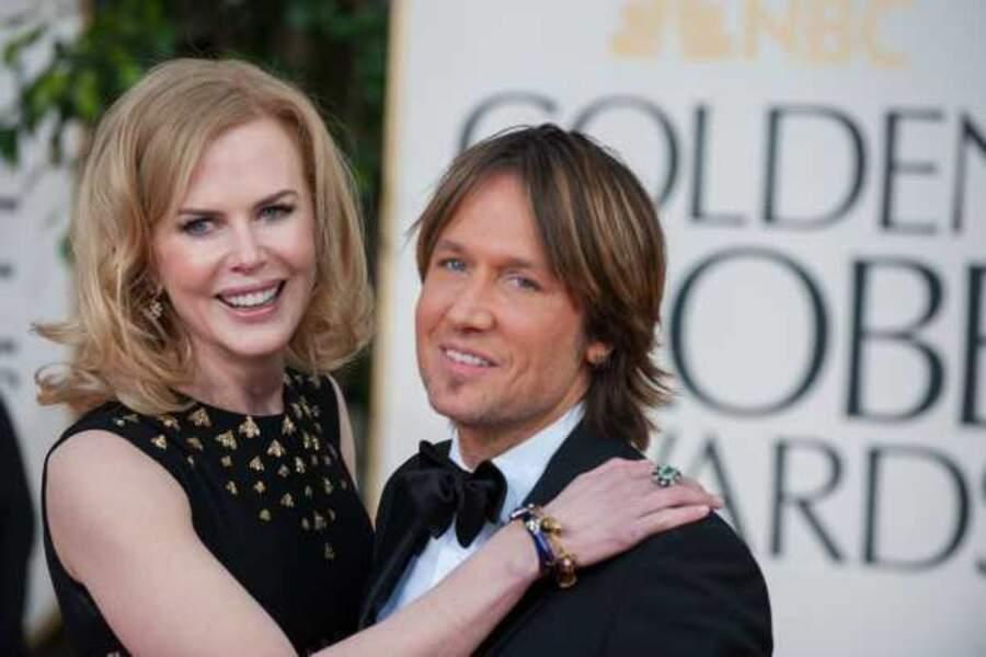 Nicole Kidman et son compagnon Keith Urban