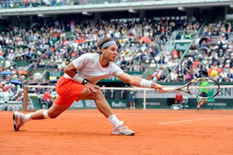 Rafael Nadal toujours athlétique