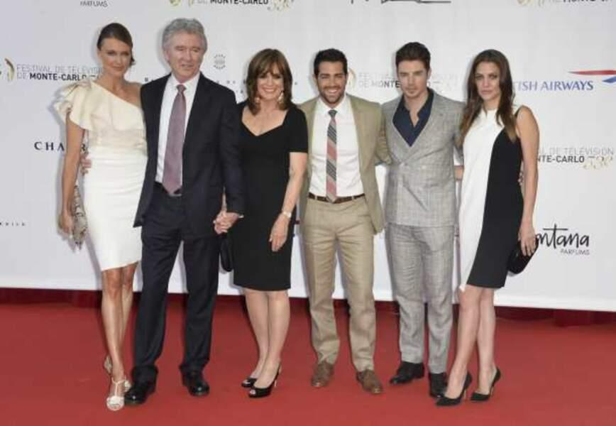Brenda Strong, Patrick Duffy, Linda Gray, Jesse Metcalfe, Josh Henderson et Julie Gonzalo, stars du soir