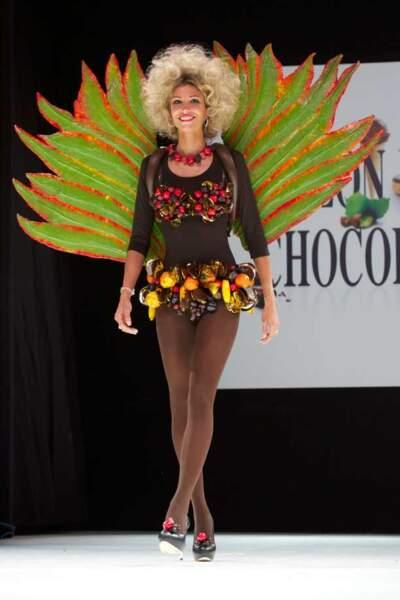Alexandra Rosenfeld au Salon du chocolat