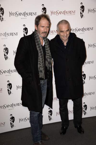 Christopher Thompson et le producteur Alain Terzian