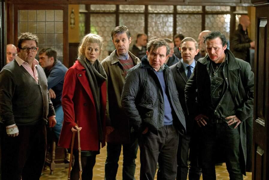 Dans Le dernier pub avant la fin du monde (2013), pochade avec la crème des acteurs british.