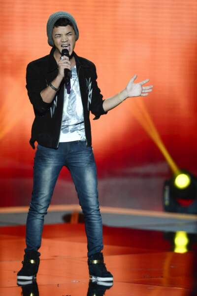 L'irrésistible Yann'Sine a fait craquer les jurés avec Dernière danse d'Indila