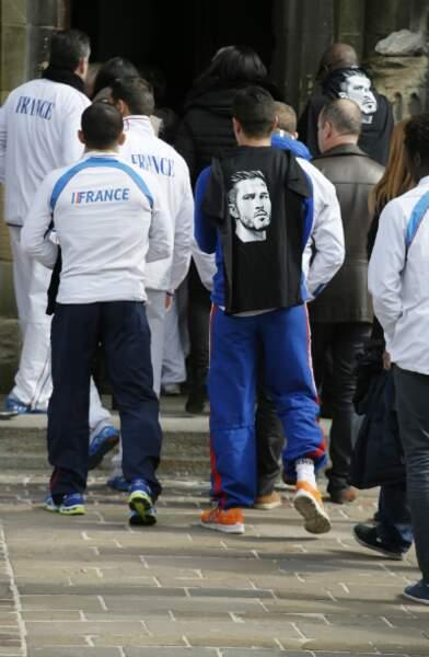 L'INSEP, Institut national du sport, a affrété un car pour les membres des diverses équipes de France
