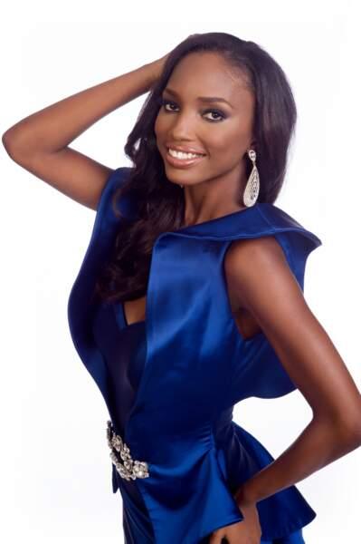 Jevon King, Miss Trinité & Tobago 2014