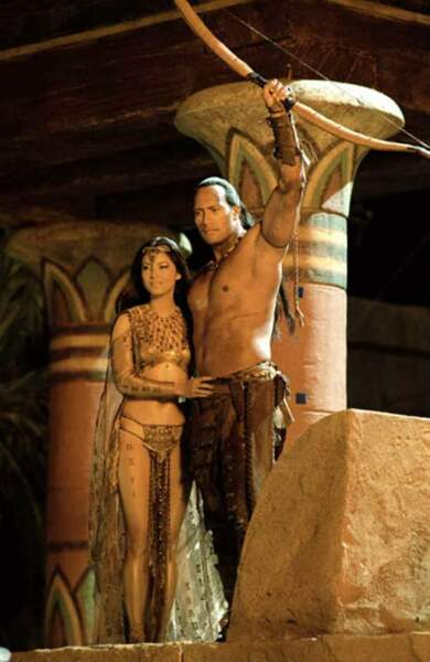 Le Roi Scorpion (Charles Russell, 2002), avec Kelly Hu