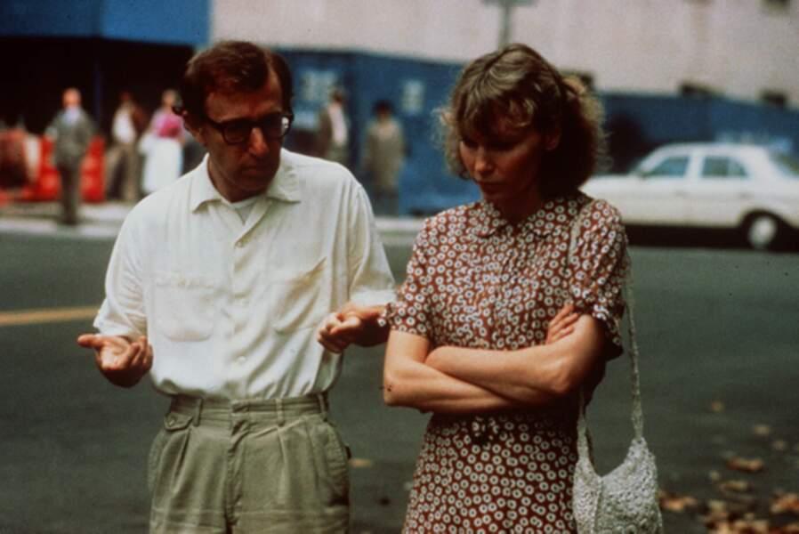 Avec Woody Allen dans Hannah et ses soeurs (1986)