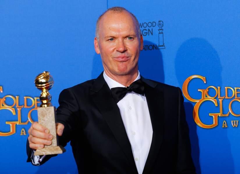 Michael Keaton, meilleur acteur de comédie avec Birdman