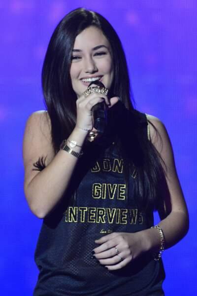 Vue dans The Voice Kids, Victoria Adamo a encore cette fois encore intégré la team Jenifer