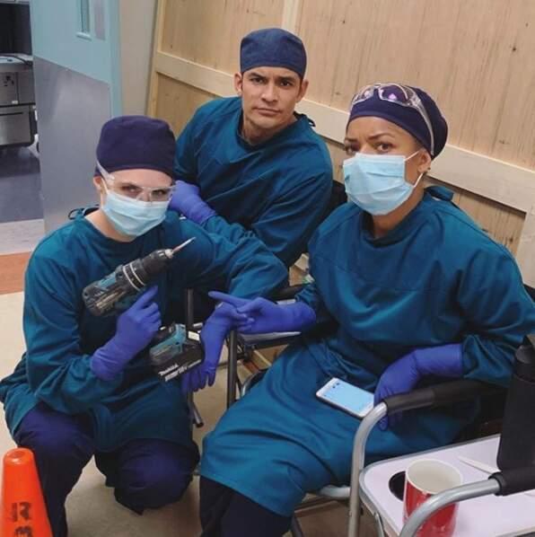 Partants pour une petite opération sur le tournage de Good Doctor ?