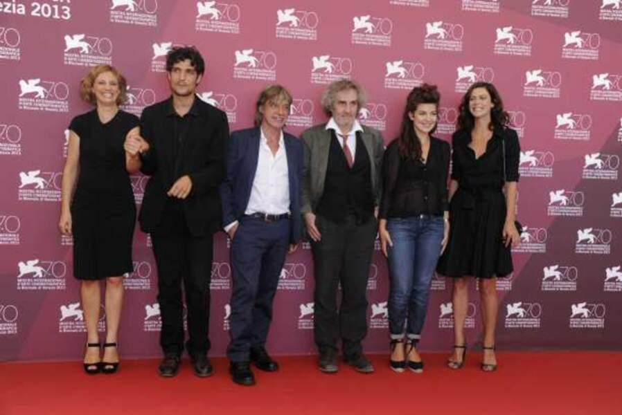 L'équipe de La Jalousie au photocall...